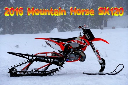 2016 Mountain Horse SX120